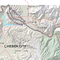 Utah County Zoning Map